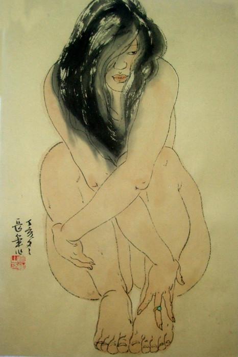 刘长年国画人体欣赏 - 石墨閣藝術長廊 - 石墨閣藝術長廊--雨濃的博客