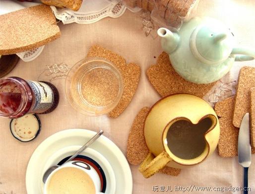 面包杯垫 - 何泛泛 - 何泛泛|IT独唱团