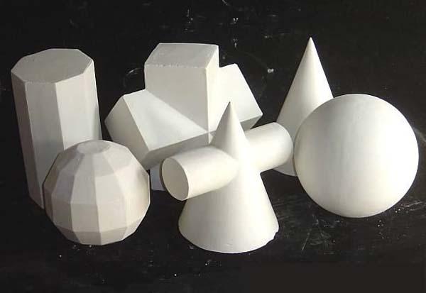 膏几何体的结构素描!