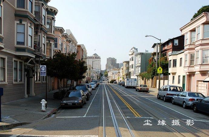 """坐着""""叮当车""""看旧金山 - Y哥。尘缘 - 心的漂泊"""