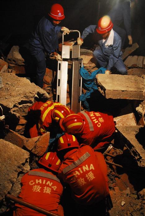 6小时废墟救人的全过程 - 赵亚辉 - 赵亚辉