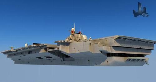 美媒透露:中国首艘进口航母新名字(组图)