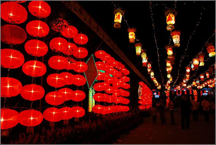 [原创摄影]中国豆腐文化节灯展 - 运动摄影旅行 -               运动摄影旅行