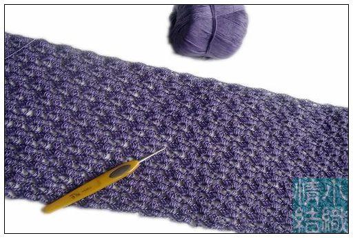 分享小织的紫色泡泡短袖(图解)  - 我心依旧 - 我心依旧的博客