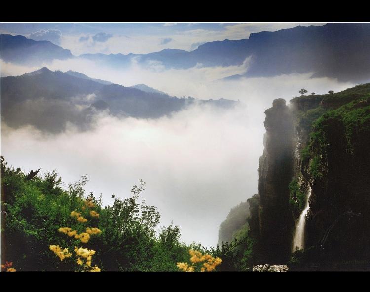 引用 [专题]林州市第四届华东杯摄影大赛获奖作品 - 太行山写生基地 - 太行山写生基地,太行大峡谷桃花谷写生摄影