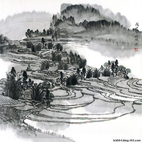 2008年8月20日卢晓波《水墨家乡》作品选 - 卢晓波 - 卢晓波的博客