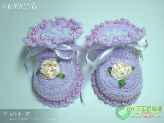 苗苗妈妈教你钩漂亮宝宝鞋 - 一沙一世界 - 一沙一世界的博客