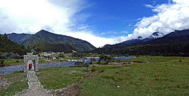 鲁朗生态旅游区 --雪域西藏行之十  - 侠义客 - 伊大成 的博客
