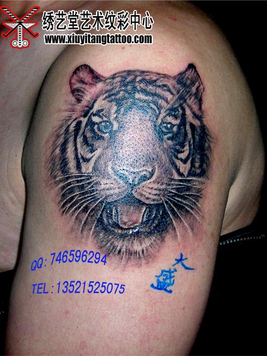 王者风范---绣艺堂李大盛纹身作品 - 北京纹身绣艺堂纹身刺青 - 北京纹身绣艺堂纹身刺青