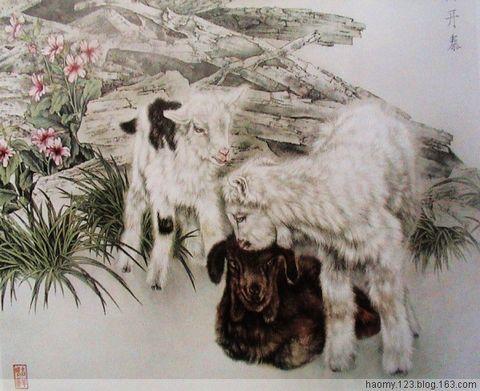 十二生肖国画版 - 禅牌苑 - 禅牌苑