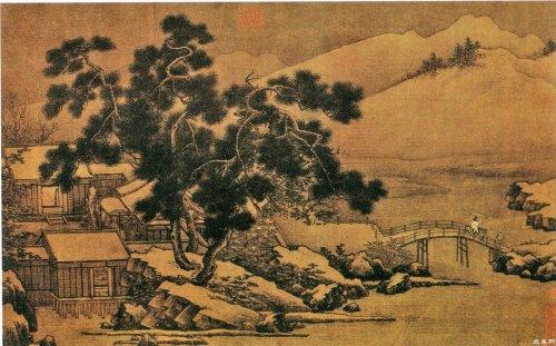 宋刘松年-《四景山水图》等四副 - 随风而至 - 读书与人生——众妙之门