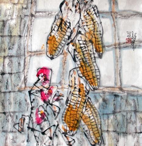 画家道白(12) - 苏文 - 中国当代美术家——路中汉