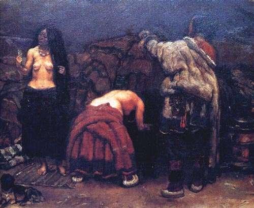 陈丹青油画作品赏析 - 为爱而生的女人 - 为爱而生的女人