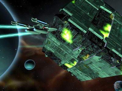 PC游戏-《星舰迷航:遗产》 - 海怪 - 冷山