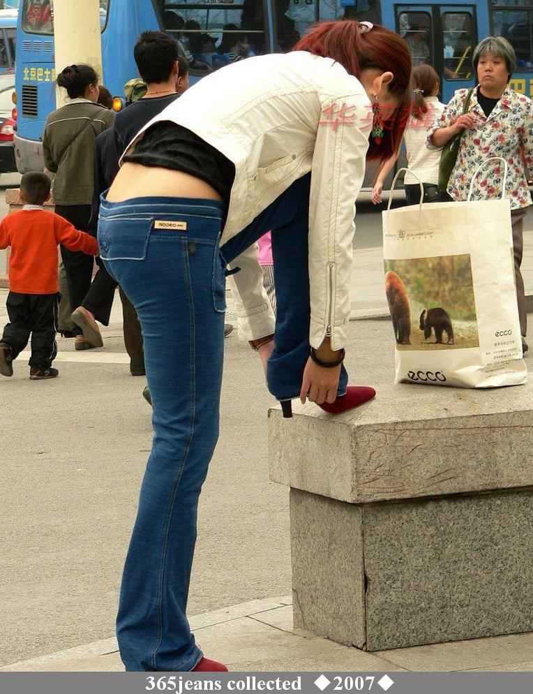 美女,在大街上可要注意形象哦!  - 源源 - djun.007 的博客