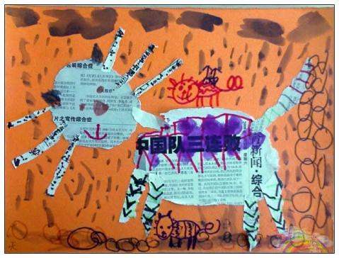猫 - 七彩城堡少儿美术工作室 - 七彩城堡