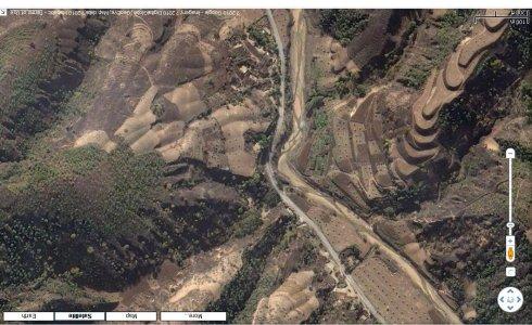 卫星图片上的视觉问题