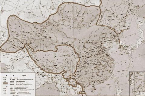 中国历代地图