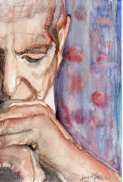播放器本周新老人:Leonard  Cohen - 巫昂 - 巫昂智慧所