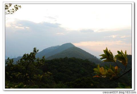 一路向西--塘朗山脉穿越 - 紫藤秋水 - Life and Hiking
