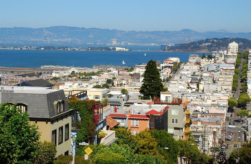 加州阳光(二十六)___美丽旧金山 - 西樱 - 走马观景