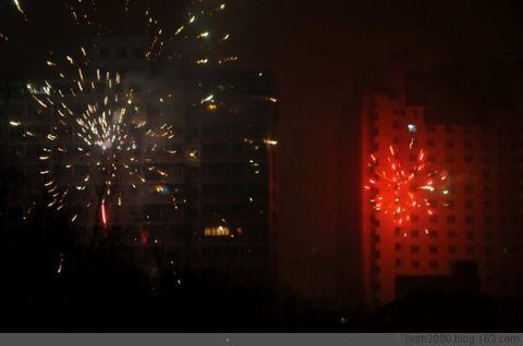 焰火闪耀边城夜  瑞雪纷飞迎牛年 - 阿凡提 - 阿凡提的新疆生活