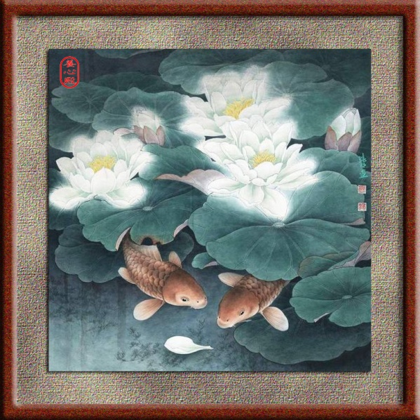 引用 精美工笔花鸟画 [10幅] - 天涯孤鹤 - 石文生 Painting