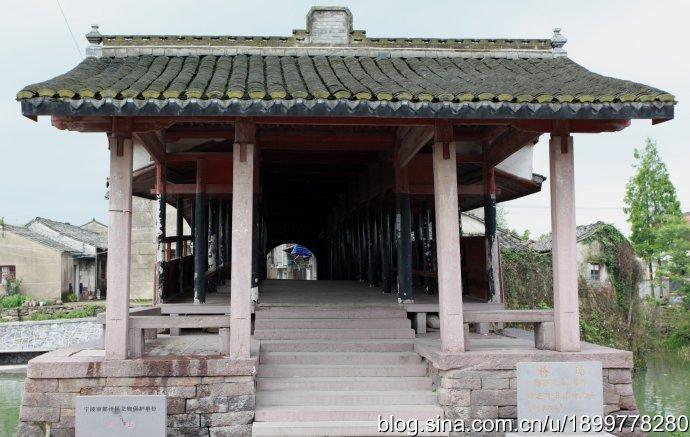 宁波古桥的桥联形式