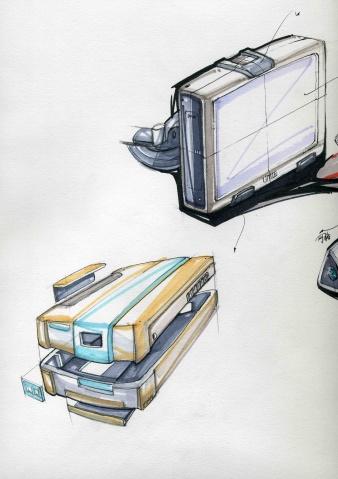 产品设计手绘临摹图