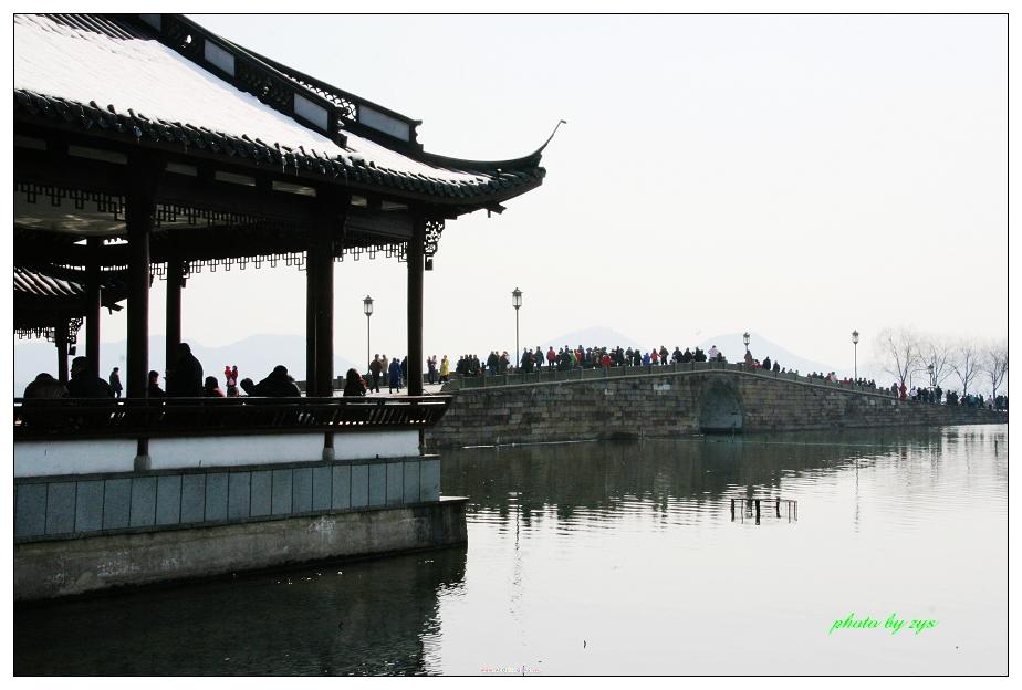 断桥残雪话妖情[原] - 自由诗 - 图说天下