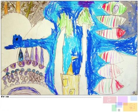 春天来了 - 七彩城堡少儿美术工作室 - 七彩城堡