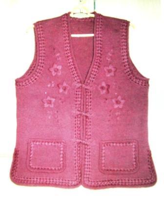 我编织的几款仿唐式毛衣  lt;原创gt;(图文) -         香草 - 香草的艺术小屋