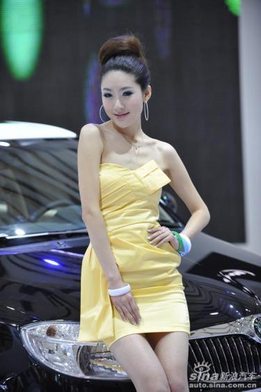 2009上海国际车展最漂亮的模特