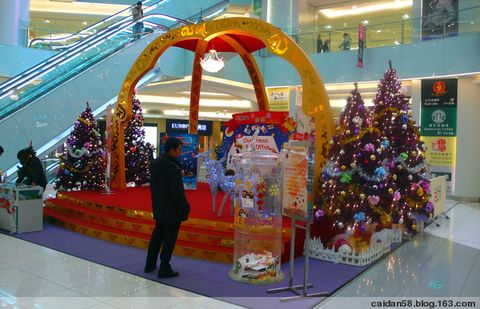 美丽圣诞节 - caidan58 - 陆岩的博客