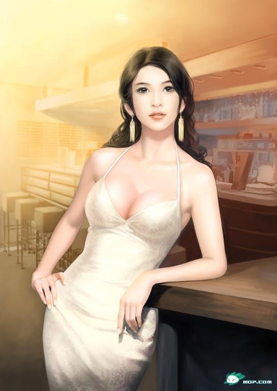 手绘美女大全【极品绝色】 - 至美芙蓉 - 我的美女图网