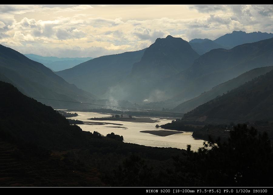 虎跳峡和三江并流 - 西樱 - 走马观景