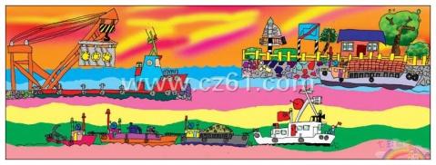 大运河 - 七彩城堡少儿美术工作室 - 七彩城堡