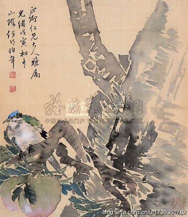 [转载]任伯年花鸟画欣赏!