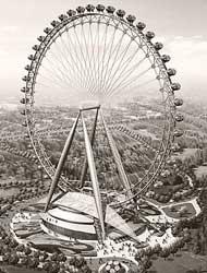 世界第一摩天轮落户北京朝阳公园
