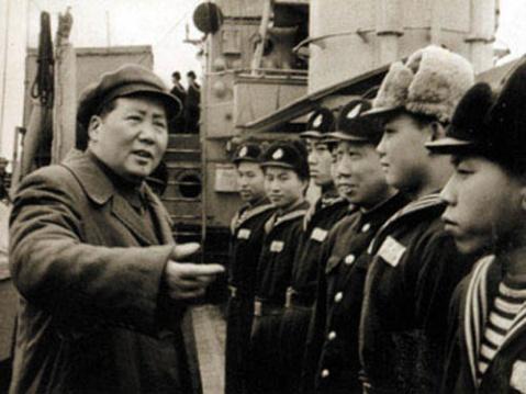 (引用)毛主席与中国人民海军建设 - 松柏国槐 - 松柏国槐欢迎朋友