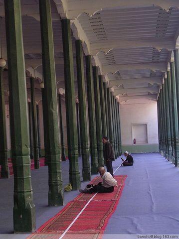 (原创)喀什行-艾提尕尔清真寺 - 殇殇 - tianshizff的博客
