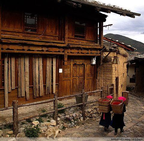 在独克宗古城访寻茶马古道的累累蹄印 - billbill163 - billbill163的博客
