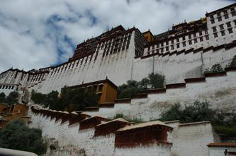 西藏风景(世界文化遗产布达拉宫--3) 2007年10月17日