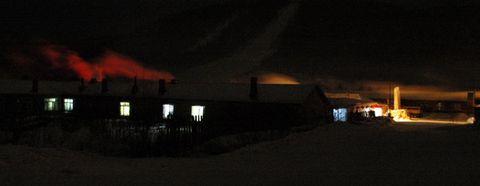 [原创摄影]雪乡的雪景(4)--雪乡之夜 - 松江蓑笠翁hitcdw - hitcdw摄影、旅游