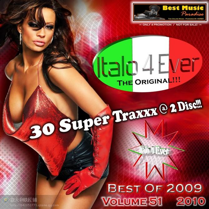 VA-Italo 4 Ever-Vol.51-(Best Of 2009)-2CD-WEB-2010-M4E - 意大利铁匠 - 分享劲爽节奏--XINBO21