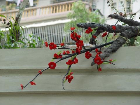 六五年【原创】诗配画《红杏》 - 六五年 - 根据地