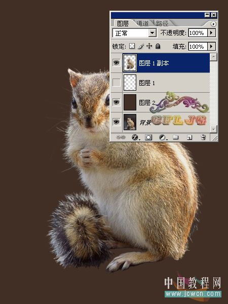 PS教程:抽出滤镜运用-松鼠的爱 - 迎春 -