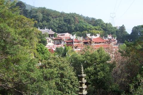 大帽山,灵应寺 - 老陶 - 行走时光