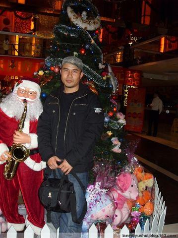 去年圣诞节 - 蓝魔大叔 - 悲情的蓝魔