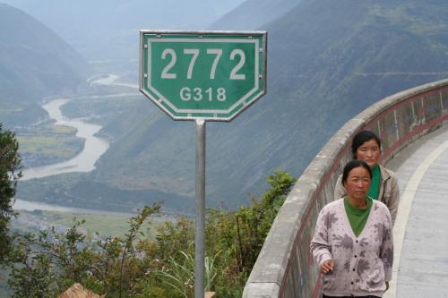 考验智商的公路指示牌 - 蔡上尉 - 蔡伟的博客